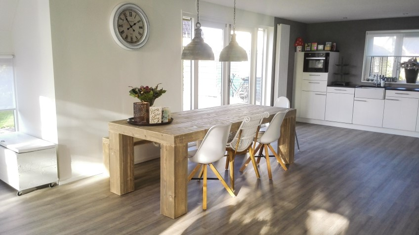 Awesome Complete Woonkamer Steigerhout Photos - Ideeën Voor Thuis ...